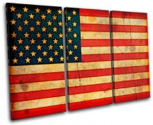 Abstract American Maps Flags - 13-1147(00B)-TR32-LO